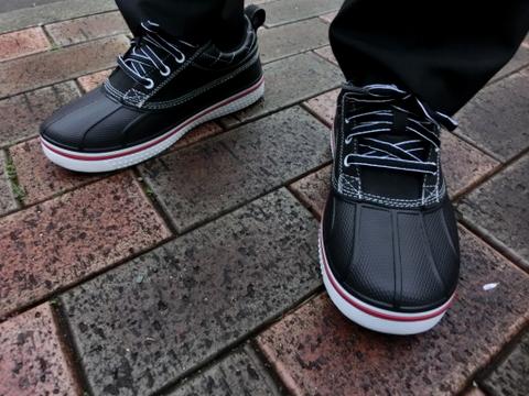 クロックス オールキャスト ダック スニーカー ブーツ