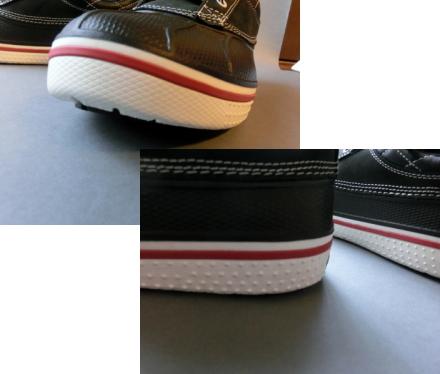 クロックス スニーカーブーツ 靴底