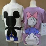 繋がろう♪ディズニーペアTシャツ・・・いや、仲間で着る「みんなでつながるディズニーTシャツ」で!
