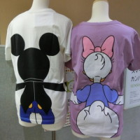 ディズニーTシャツ  デイジー&ミッキー