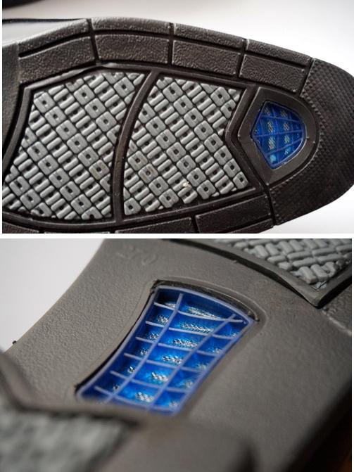 空気循環機能の靴