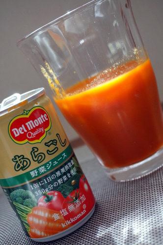 デルモンテあらごし野菜ジュース