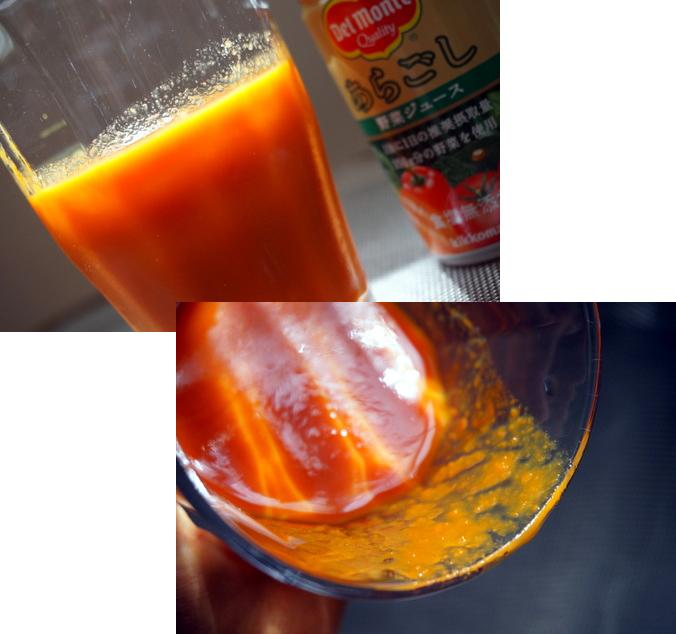 """この""""モロモロ~""""とした喉越しが、すごく美味しい!   デルモンテ「あらごし野菜ジュース」飲んでみました♪"""