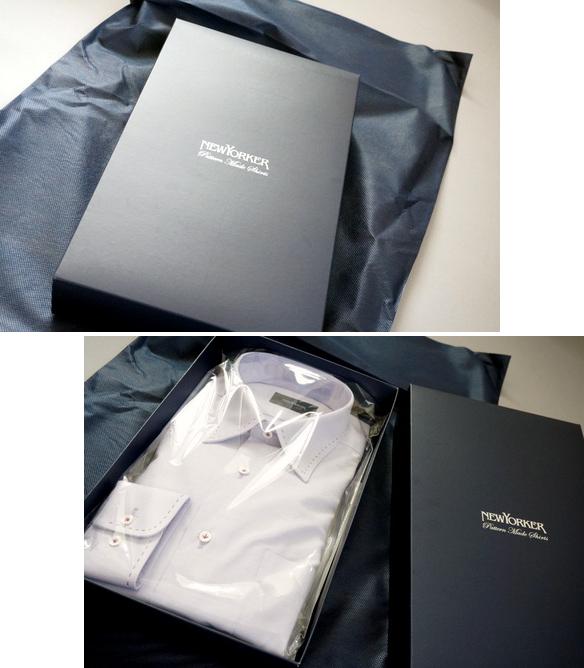 NEWYORKERのパターンメイドシャツ ギフト