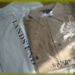 """【ランズエンド】で買った""""メンズシャンプレーワークシャツ""""が素敵☆"""