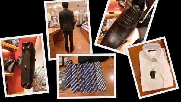 就活スーツのイメージ