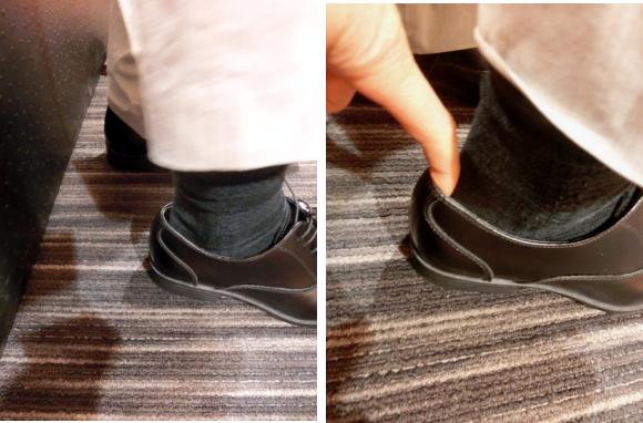 革靴のサイズ