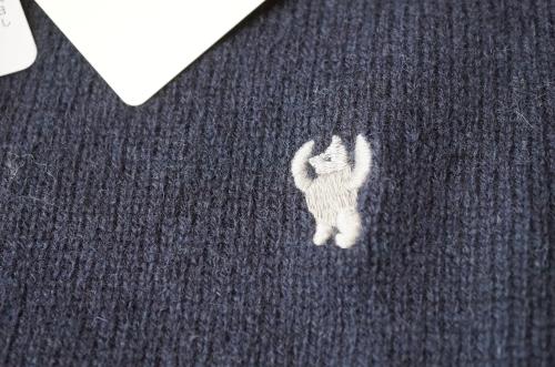 クマの刺繍