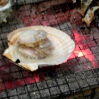 ホタテ 焼き
