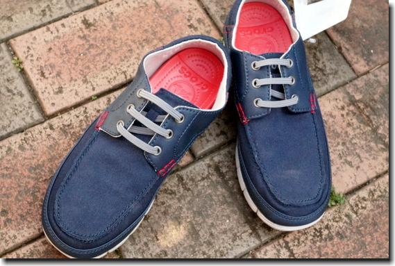 【クロックス】ストレッチソールのお洒落なスニーカー「stretch sole lace-up men」買った♪