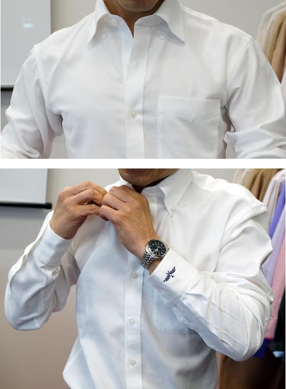 シャツのボタン