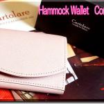 【レディース用三つ折り本革財布】クラッチやハンドバッグに♪キュートでちっちゃな使えるお財布~カルトラーレ~