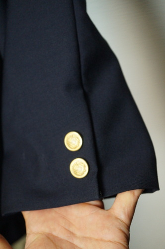 袖口のボタン