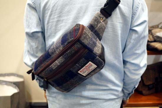 glencheck-harris-tweed-2waywaist-bag-1