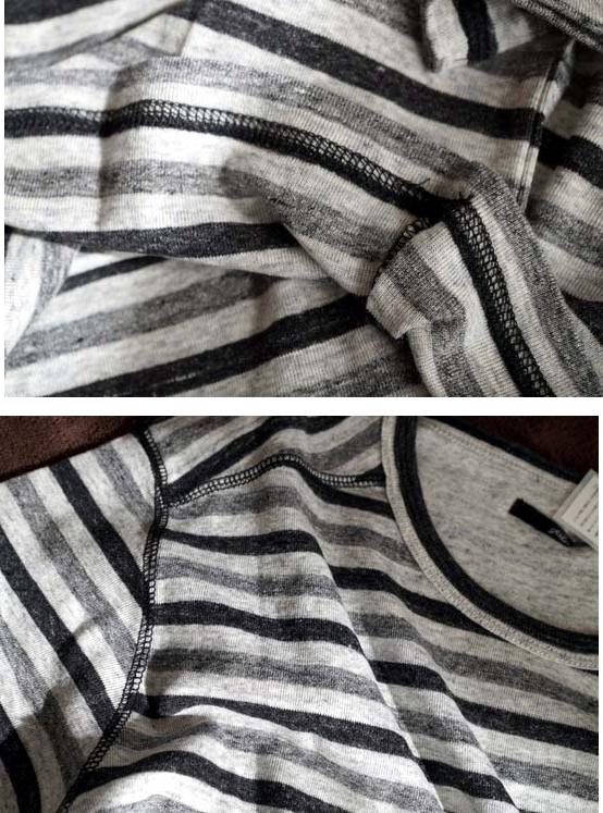 カットソーの縫製