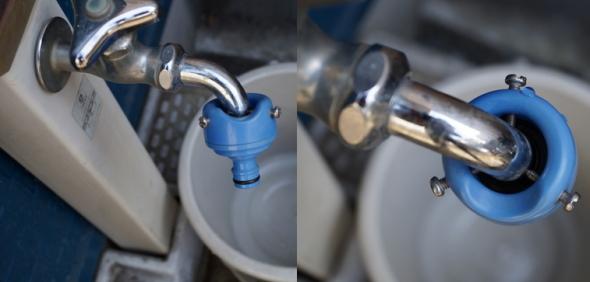 ホースジョイント 庭水栓