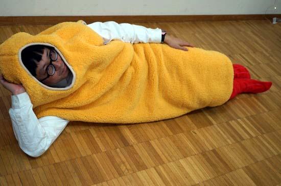 エビフライ寝袋