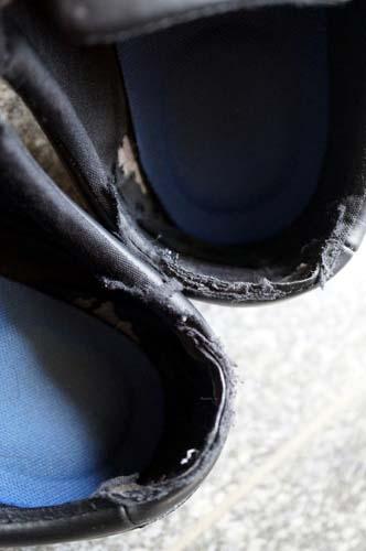 靴のいたみ
