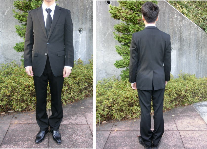 suitのアオキの礼服