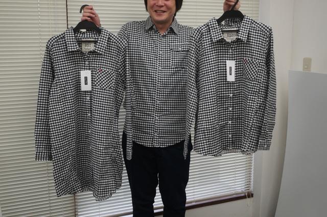 ペアカジュアルシャツ