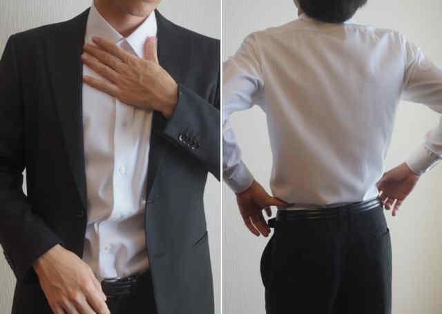 ソルブシャツ―着てみたところ