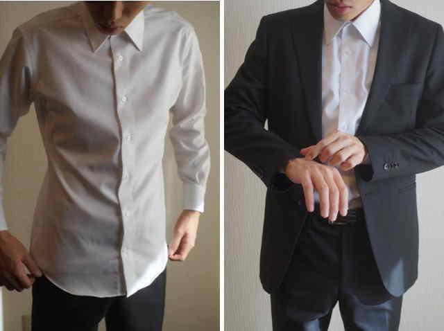 shirtのお直し