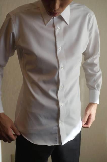 shirtのフィット感