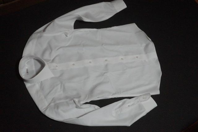 ソルブのシャツの白