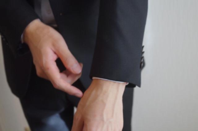 ビジネスシャツの袖丈