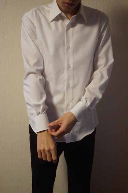 仕立て直しのシャツ