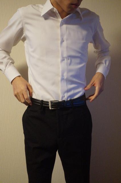 shirtの身幅2